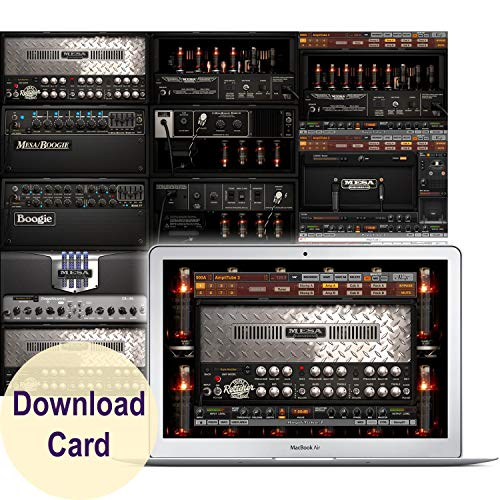 IK Multimedia AmbliTube MESA Boogie for Windows and Mac – Virtual Guitar Amp Software (Download Card)