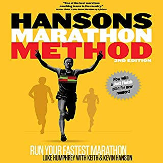 Hansons Marathon Method: Run Your Fastest Marathon the Hansons Way cover art