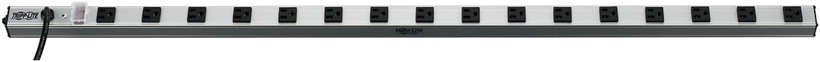 نوار خروجی و کابینت Tripp Lite 16 ، طول 48 اینچ ، کابل 15ft با پلاگین 5-15P ، (PS4816)
