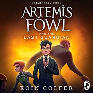 The Last Guardian: Artemis Fowl, Book 8                   Written by:                                                                                                                                 Eoin Colfer                               Narrated by:                                                                                                                                 Nathaniel Parker                      Length: 7 hrs and 39 mins     1 rating     Overall 5.0