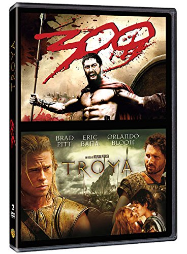 Paquete 300 Y Troya [DVD]