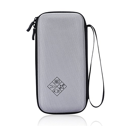 Eyglo Hard Case for Texas Instruments TI-84 Plus CE TI-83 Plus TI-89 Titanium HP 50G Graphing Calculators Storage Travel Pouch Box (Gray) Photo #6