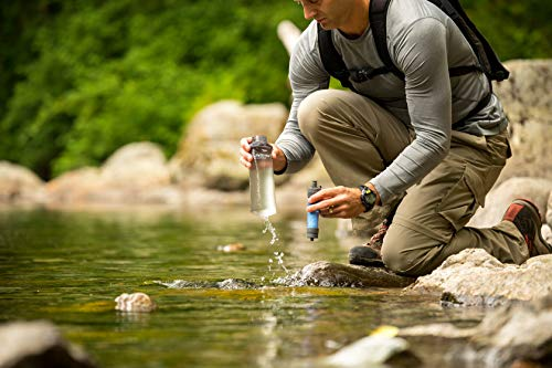 LifeStraw Flex Multi-Function Water Filter System with 2-Stage Carbon Filtration for Hiking, Camping and Emergency Preparedness