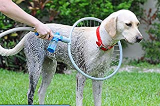 Stingna Woof Washer 360 Large/Small Size Pets Cleaner Love Washing Dog Convenient Clean Tool Easy Using Washing Gun TV Latest Product (M)