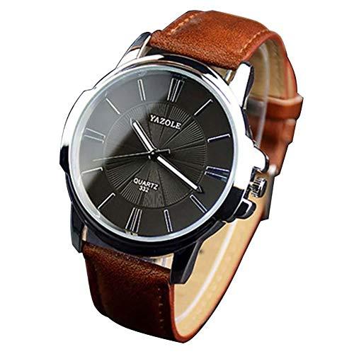 MSYOU 1 x große Business-Armbanduhr für Männer, ultradünn, wasserdicht, Business-Armbanduhr für Jungen