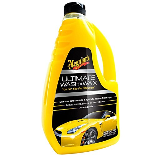 Meguiars Ultimate Car Wash & Wax Shampoo 1420ml Kit **INCLUDEDS MICROFIBRE DRYING TOWEL**