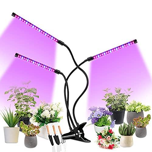Grow Light for Indoor Plants, HOOMEDA Tri Head Plant Light...