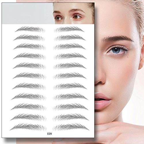 Kybbe 4D Hair-Like Authentic Eyebrows Grooming Shaping Brow Shaper Makeup Defining Non-Sticky