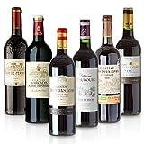 Feinste Weine - Weinselektion 6er Bordeaux Probierpaket (6 * 0,75l) - Frankreich-Probierset mit...