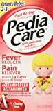 PediaCare Infant Pain Relief/Fever Reducer Drops, Cherry 2 oz ( Pack of 2)