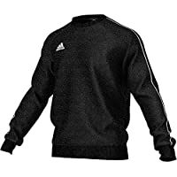 adidas Core18 Sw Top Sudadera, Hombre, Negro (Negro/Blanco), S