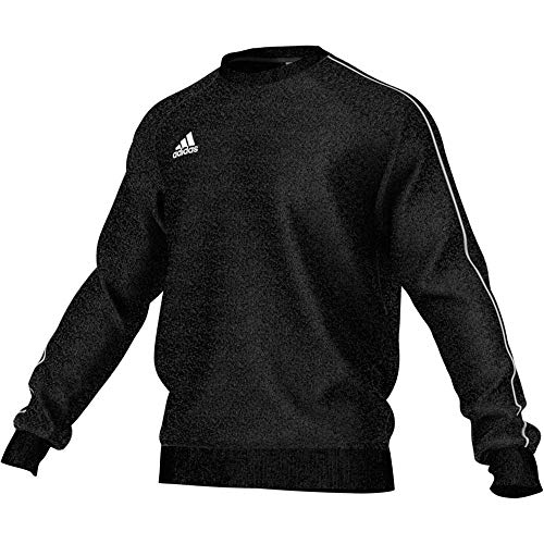 adidas Football App Generic Sweatshirt Long Sleeve, Uomo, Black/White, L