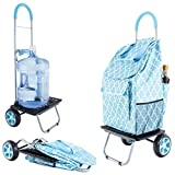 dbest products Bigger Trolley Dolly, Moroccan Tile...