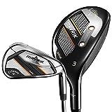 Callaway Golf 2020 Mavrik Max Hybrid Iron Combo Set (Right Hand, Graphite, Regular, 3H, 4H, 5IR - PW)