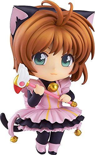 Good Smile Sakura Kinomoto Nendoroid Co-De Action Figure (Black Cat Maid Version) image