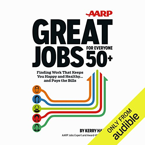 AARP Great Jobs for Everyone 50+ audiobook cover art