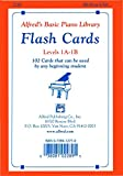 Alfred's Basic Piano Library: Flash Cards, Levels 1A and 1B (English Edition)