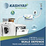 KASHYAP Washing Machine and Dishwasher Water Softener Descaler for Hard Water Treatment, White