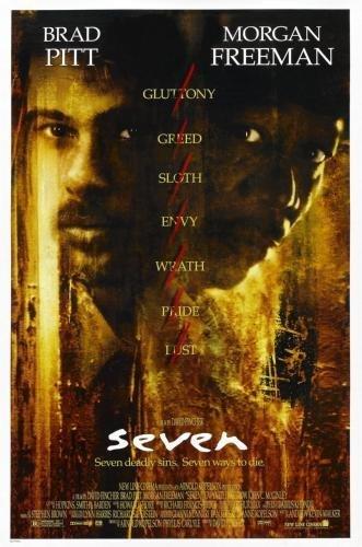 Se7En Seven Movie Poster 24in x36in