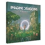 Indie Rock Band Imagine Dragons Musikalbum Origins Leinwand