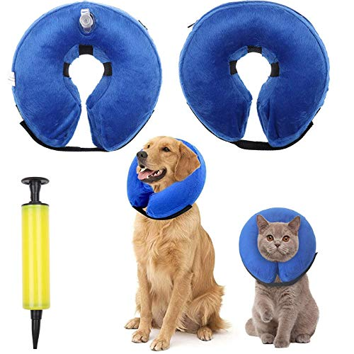 Collar Inflable Perro Marca WWmily