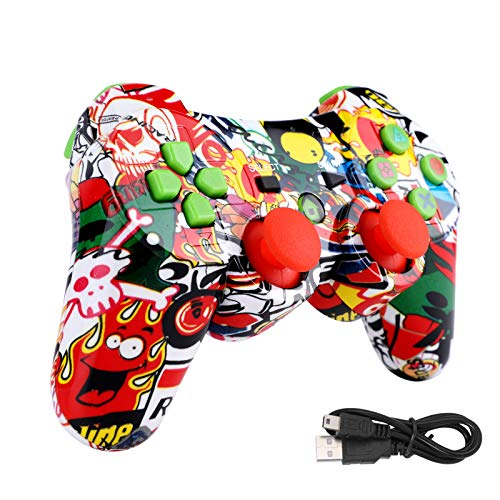 vkospy Bluetooth Senza Fili del Gioco Wireless Controller Joystick Gamepad per PS3 Video Games Comando Joystick