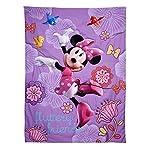 Disney-4-Piece-Minnies-Fluttery-Friends-Toddler-Bedding-Set-Lavender