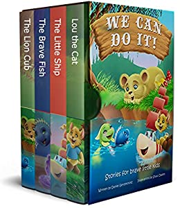 We Can Do It!: Stories for Brave Little Kids by [Daniel Gershkovitz]