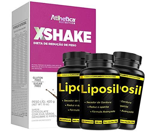 Liposil - O Melhor Suplemento Compre 02 Leve 03+ Shake