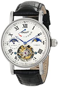 Ingersoll Men's IN5101WH Sonoma Tourbillon Analog Display Chinese Automatic Black Watch image