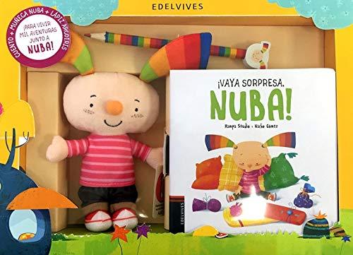 Pack Regalo Libro Mascota Y Lápiz. Vaya Sorpresa Nuba 🔥