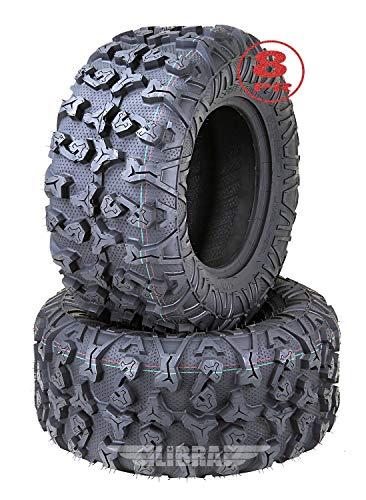 (2) Premium FREE COUNTRY 8PR ATV/UTV Tires 25x11x12 fit 09-16 Kubota RTV 1140