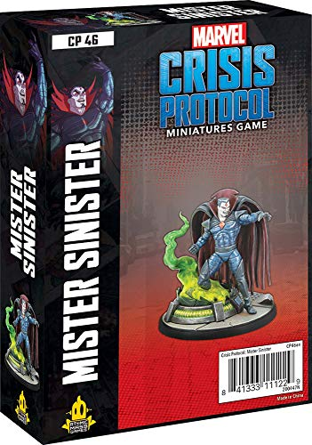 Atomic Mass Games - Marvel Crisis Protocol: Character Pack: Mr Sinister: Marvel Crisis Protocol - Gioco in miniatura