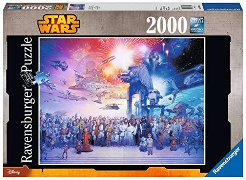 Ravensburger Star Wars - Jigsaw Puzzle, Premium Puzzle con tecnología Softclick, 2000 piezas, para adultos (16701 2)