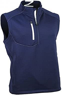 Zero Restriction Men's Quarter Zip Tech Vest