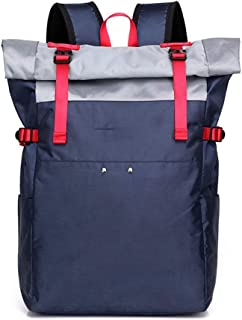 Sponsored Ad – ZLX Simple Nylon Shoulder Bag Large Capacity Backpack Fashion Wear Casual Backpack Student Bags (28 * 13 * ...