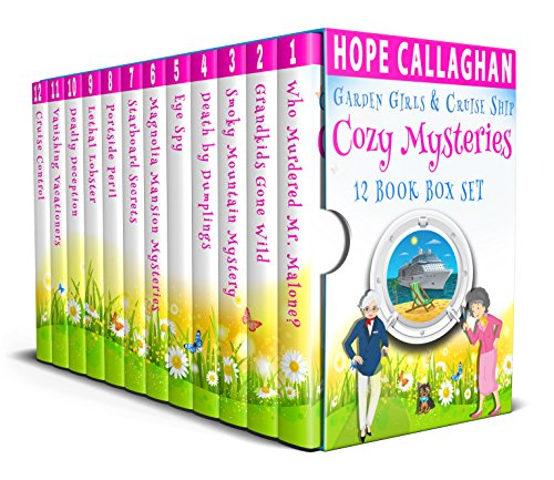 Cozy Mysteries 12 Book Box Set: (Garden Girls & Cruise Ship Cozy Mysteries Series)