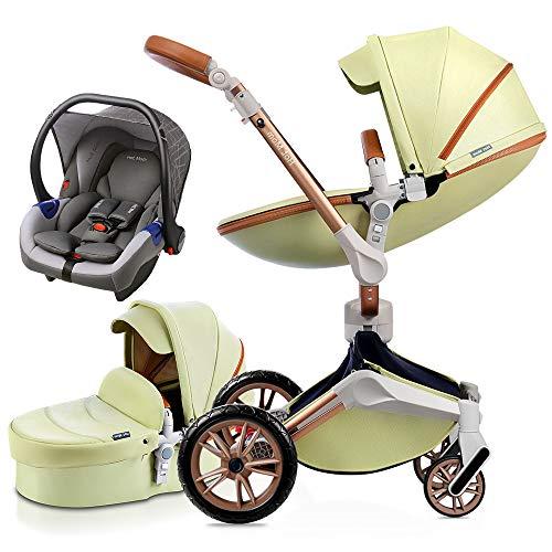 Hot Mom Silla de paseo Reversibilidad rotación multifuncional de 360 grados con buggy...