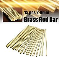 溶接棒 溶接ツールのための15pcs 2〜8ミリメートル真鍮Kゴールドプラチナジュエリーの溶接はんだロッドゴールドろう付け溶接機ロッド
