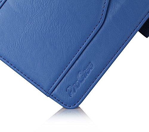 ProCase Schutzhülle für Galaxy Tab S2 9.7- Leder Stand Folio Tasche für Galaxy Tab S2 Tablet (9,7 Zoll, SM-T810 T815 T813) -Marine