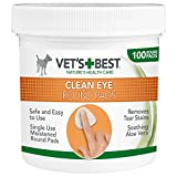 Vet's Eye Cleaning Pads for Dogs, Pack of 100