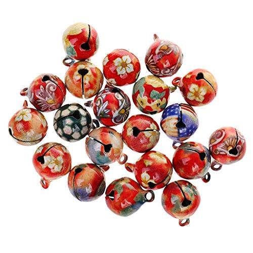 16mm 20pcs De Múltiples Cascabeles De Bricolaje Decoración De Navidad Colgantes De Artesanía