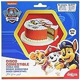 Dekora-Disco para Tarta de la Patrulla Canina 16 cm, multicolor, (231357)