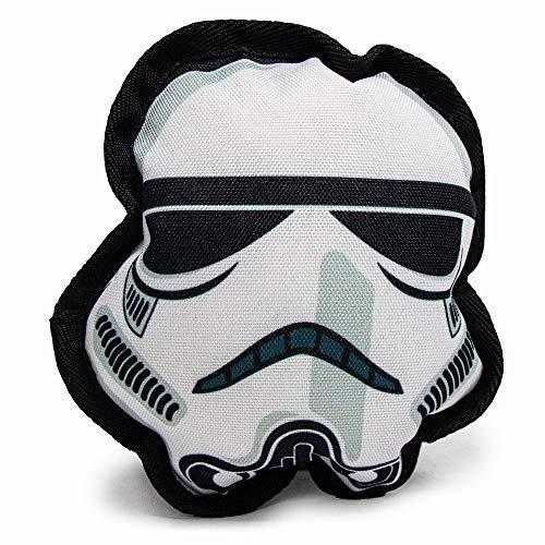 Buckle-Down Dog Toy, Plush Star Wars Stormtrooper Head
