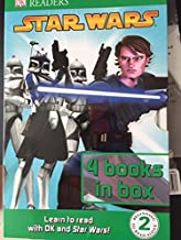 DK Readers Star Wars 4-book Set Level 2: Journey Through Space: R2-D2 and Friends: Anakin in Action: A Queen's Diary