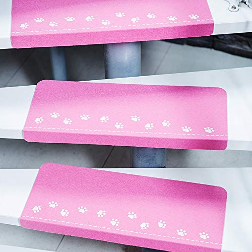 LYXG 5 Pcs Non-Slip Stair Tread Carpet Mat Indoor Luminous Pads Step...