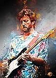 BINGSHUAI Eric Clapton Poster Dekoration Gemälde