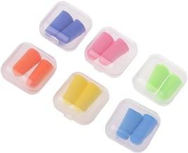 CULER 10pairs color/és Bouchons doreilles Bouchons de Couchage R/éduction du Bruit en Mousse Souple Casques antibruit Accessoires dapprentissage Couleur al/éatoire