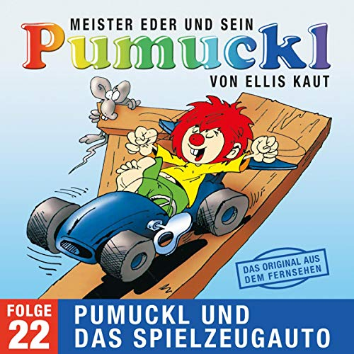 Pumuckl und das Spielzeugauto. Das Original aus dem Fernsehen Titelbild
