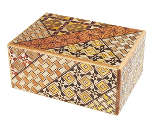toys-for-all Original Japanische Puzzlebox Himitsu Bako 21 Wege Puzzle
